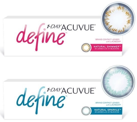 Фотография: 1 Day Acuvue Define