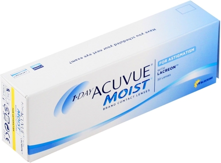 Фотография: 1-Day Acuvue Moist for Astigmatism